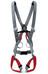Salewa Civetta II - Arnés de escalada - gris/rojo